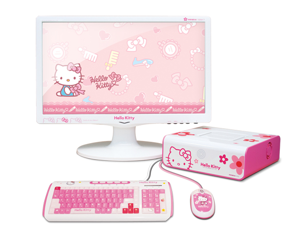 Moneual MiNEW A10 with Hello Kitty embellishments