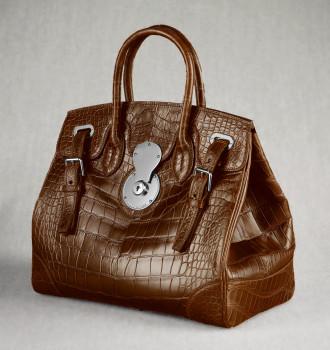 Ralph Lauren Crocodile Ricky Bag