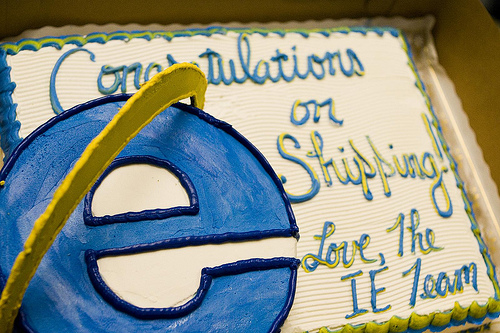 ie congratulate firefox
