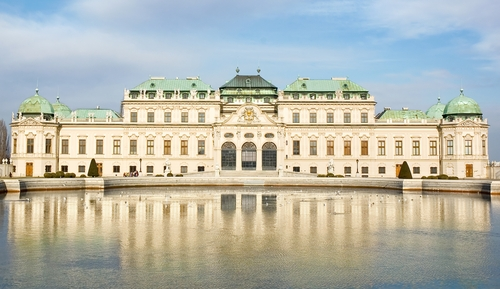 Castle in Vienna