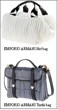 Emporio Armani 2009 Bag Collection