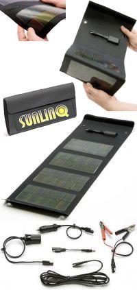 sunlinq folding solar charger