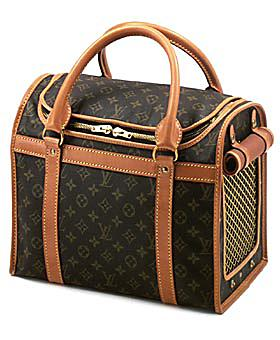 louis vuitton monogram canvas sac chien