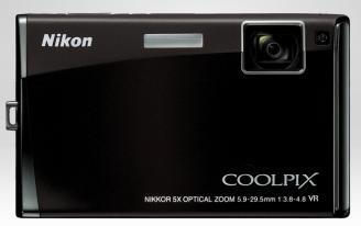 Nikon Coolpix S60 Camera