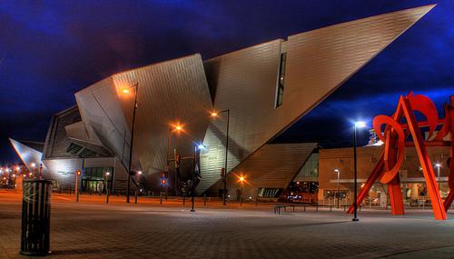 Frederic C Hamilton Building Denver Art Museum