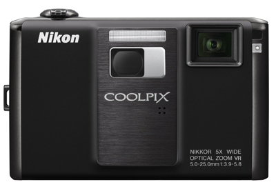 Nikon Coolpix S1000pj, digital camera with projector