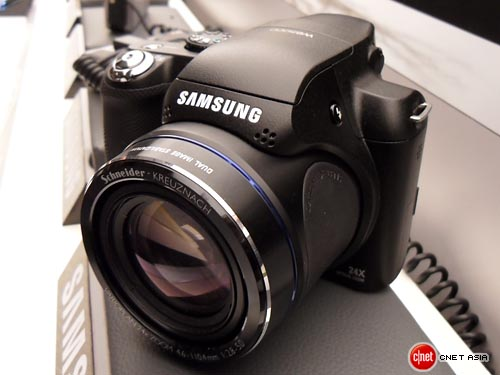 Samsung WB5000 digital camera with 24x optical zoom