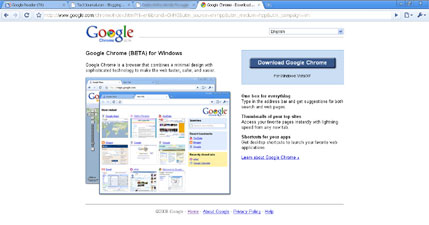 google chrome screen shot