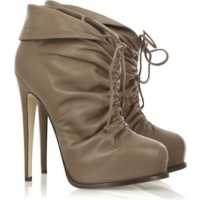 Brian Atwood Miri leather ankle boots
