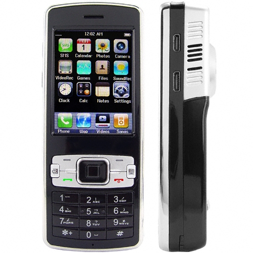 tri band projector phone