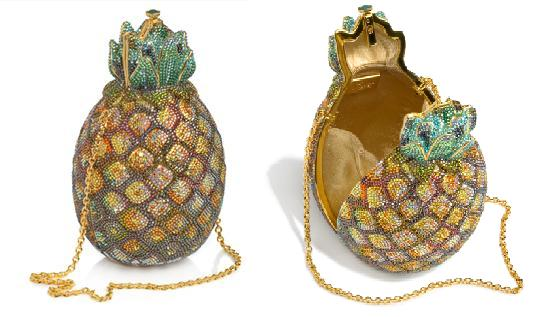 Judith Leiber Pineapple clucth