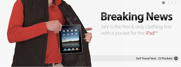 ScotteVest Travel Vest with iPad Pocket