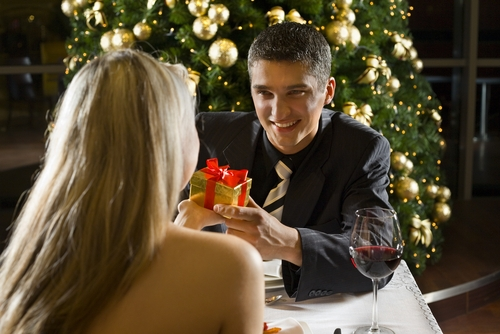 christmas wedding proposal