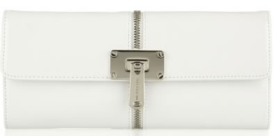 Michael Kors Zip Patent Clutch