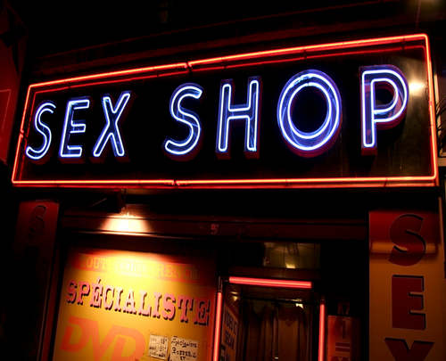Pigalle Place: Paris Red Light District