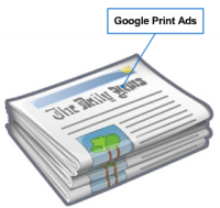 google print ads traditional media