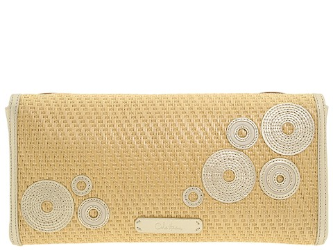 Cole Haan Straw Clutch