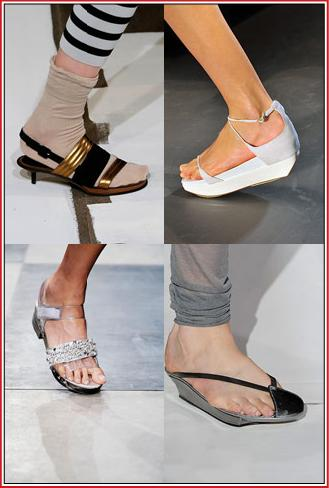 Spring 2010 Accessory Trends Low Heels