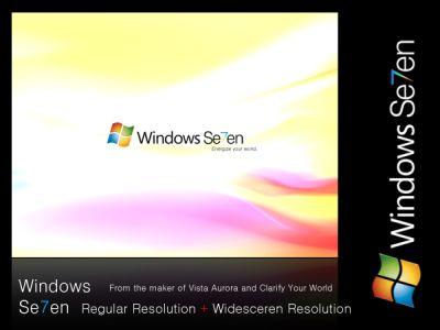 windows seven unofficial wallpaper