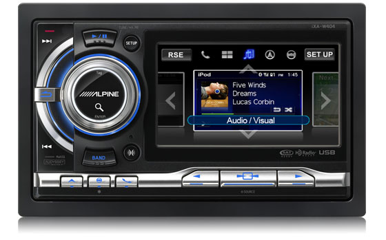 Alpine iXA-W404 Touch-Screen Digital Media Receiver