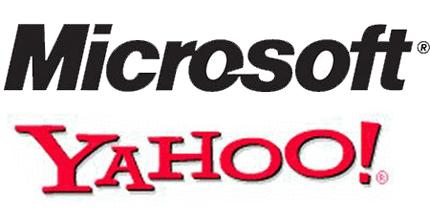 Microsoft Yahoo Logos