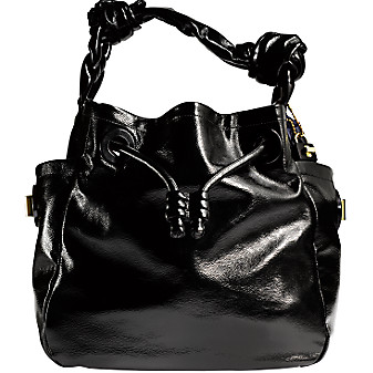 Coach 2009 Resort Handbag Collection: Leather Shoulder Tote