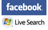 facebook live search social network integrated search engine microsoft
