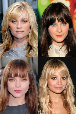 fringe and face-shape