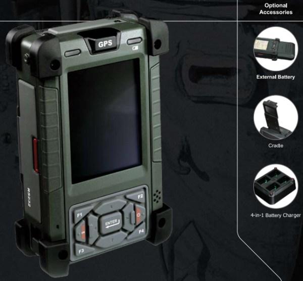 AIS RPDA37 Rugged PDA