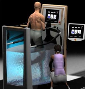 Hydro Physio Lifestyle Exercise Machine