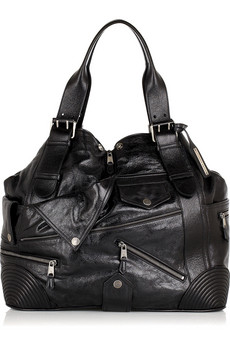 Alexander McQueen Faithfull Leather Tote