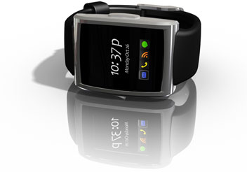 inPulse smartwatch for BlackBerry, watch accessory for BlackBerry