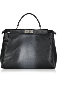 Fendi Peek-a-boo Leather Bag`