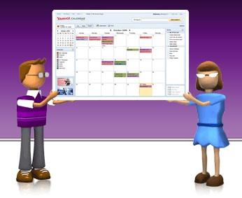 yahoo calendar beta revamp refurbish google calendar apple ical email yahoo gmail zimbra hotmail