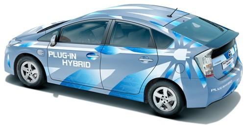 Toyota Prius Plug-in Hybrid Concept Car